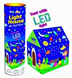 Magicwand Awals Kids Play Tent House with LED Lights