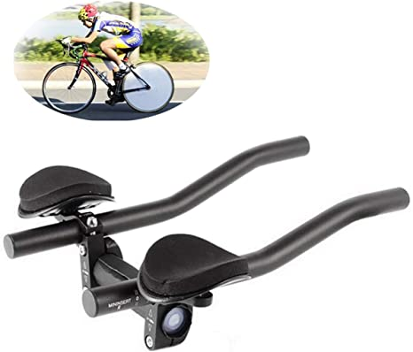 XenYonve Triatlón Manillar Bicicleta Aleación de Aluminio Brazo ...