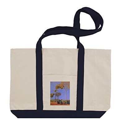 on sale Stroller (Macke) Cotton Canvas Boat Tote Bag Tote