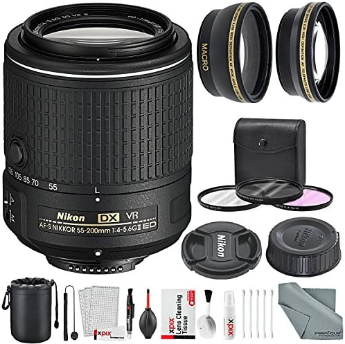 Lens Cap Cover Keeper Protector for Nikon AF-S DX Zoom-Nikkor 55-200mm f//4-5.6G ED