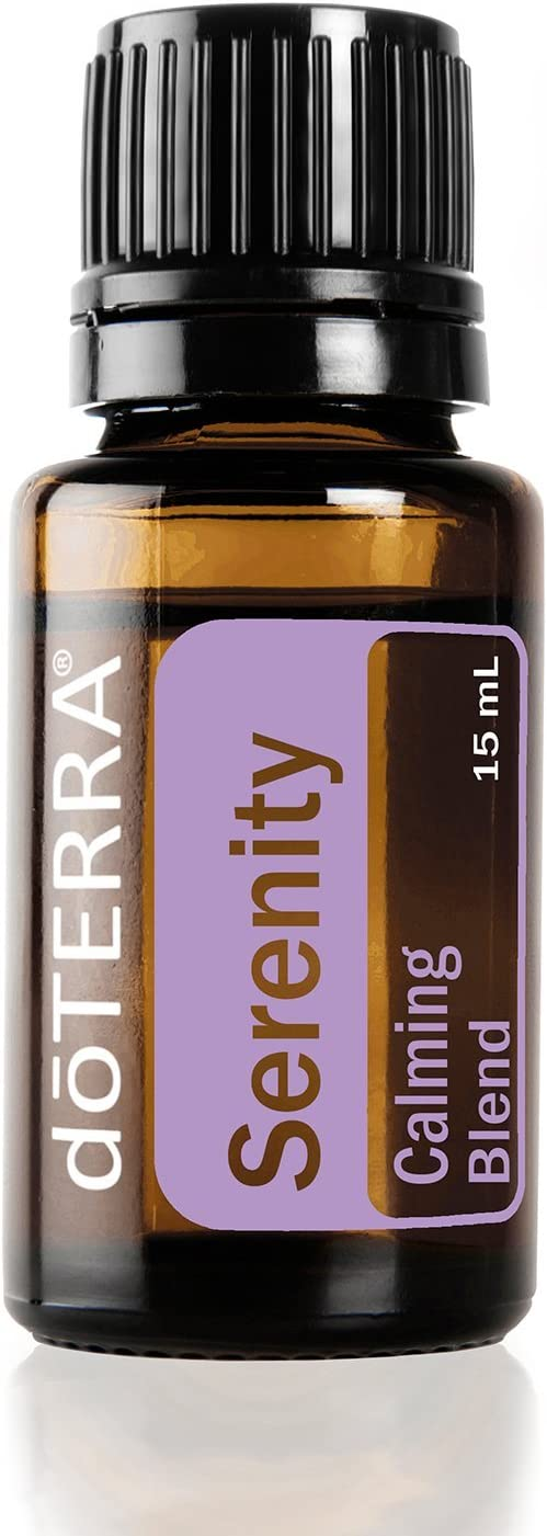 doTERRA - Serenity Essential Oil Restful Blend - Promotes Relaxation and Restful Sleep Environment, Lessens Feelings of Tension and Calms Emotions; for Diffusion or Topical Use - 15 mL essential oil diffuser - 61LDSfk83LL - Essential oil diffuser – 5 best oil diffusers according to Amazon