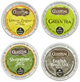 Celestial Seasonings Tea Sampler, K-Cup Portion Pack for Keurig K-Cup Brewers, 22-Count