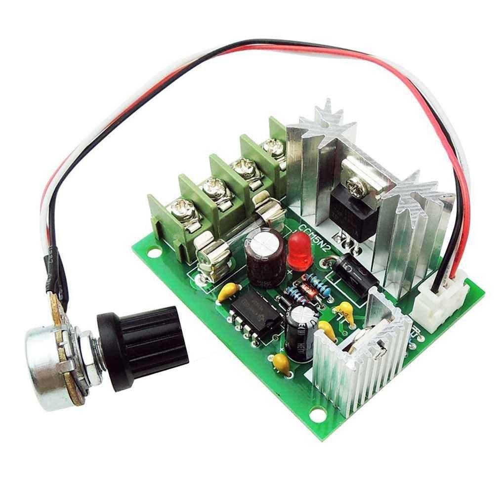 Pegcdu CCM5 10V-20V 5A DC Motor Speed Adjustable Variable Speed Governor PWM Speed Driver Control