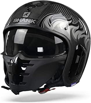 Shark Herren Nc Motorrad Helm Schwarz S Auto
