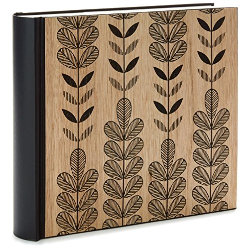 Hallmark Natural Leaves Wooden Photo Album Photo Albums Animals & Nature