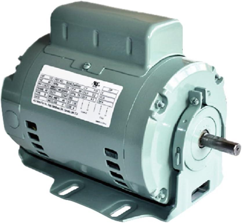 GW INSTANT REVERSING 0.5 hp, 1625 RPM, 115 volts, S56 Frame, ODP, Sleeve Bearing Belt Drive Blower Motor