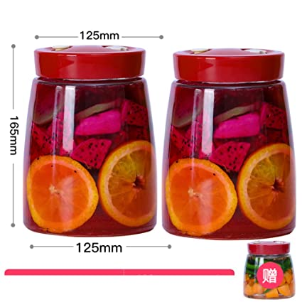 Latas selladas de vidrio Automático] Escape Fruta] Botellas ...