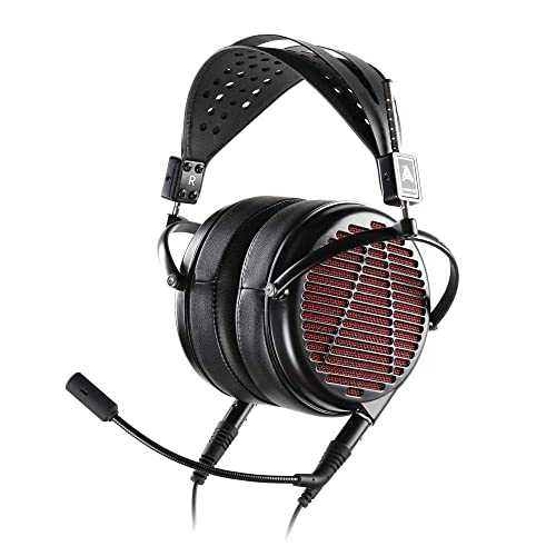 Audeze LCD-GX Gaming Headset with Boom Mic, Wired, All-Analog