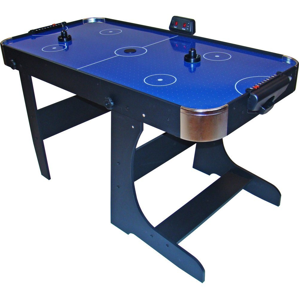 Gamesson L Foot Foldable Air Hockey Table   Blue, 5 Feet: Amazon.co.uk:  Sports U0026 Outdoors