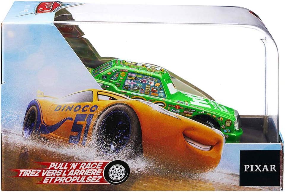 Cars Pull N Race Chick Hicks Die Cast Car