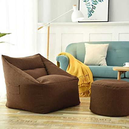 Amazon.com: LJM- Lazy Sofa, Removable and Washable Small Apartment ...