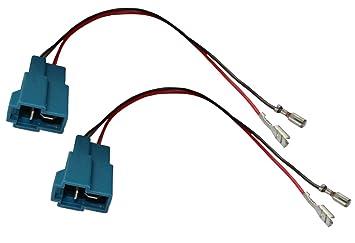 AERZETIX: 2x Conectores adaptadores para altavoces de coche, vehiculos C11905