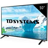 "TD Systems K50DLM8FS - Smart TV 50"" (Full HD Smart, Resolución 1920 x 1080, 3X HDMI, VGA, 2X USB, Smart TV)"