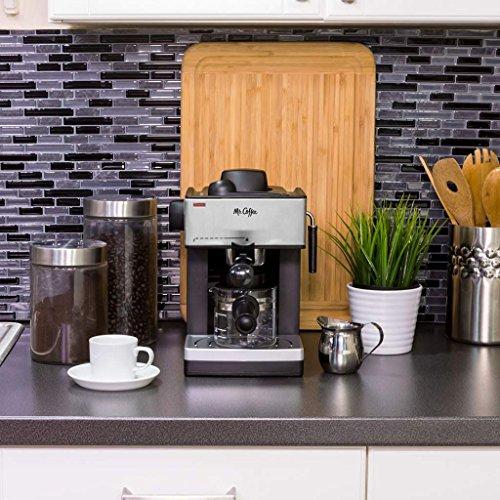 mr coffee espresso machine milk frother