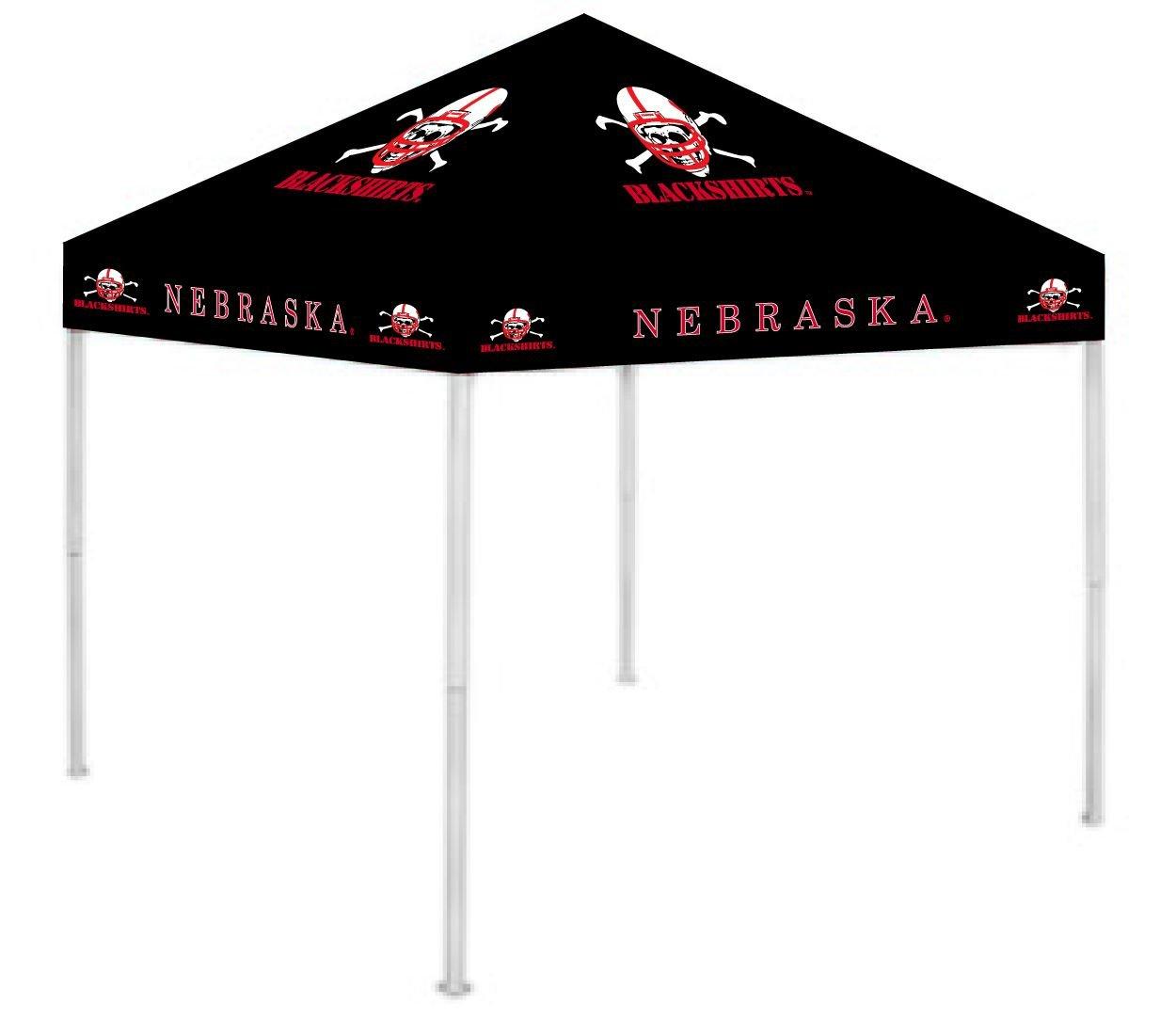 Rivalry RV288-5050 Nebraska Canopy - Blackshirts - ONLY fits a Rivalry 9X9 Frame B002UR7MFC 9 x 9|Nebraska Blackshirts Nebraska Blackshirts 9 x 9