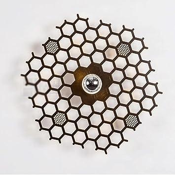 GAOLILI Einfache Kreative Wandleuchte Führte Wohnzimmer Lampe Wandleuchte  Treppe Schlafzimmer Nachttischlampe Ganglichter Shadow Lampe Exklusiver  Entwurf