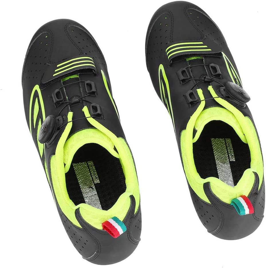 Dilwe Bike Shoes,1 Pair Anti-slip Cycling Shoe Training Shoe with Soft Pad for Cycling Running Mountain Road Biking Exercise Fitness
