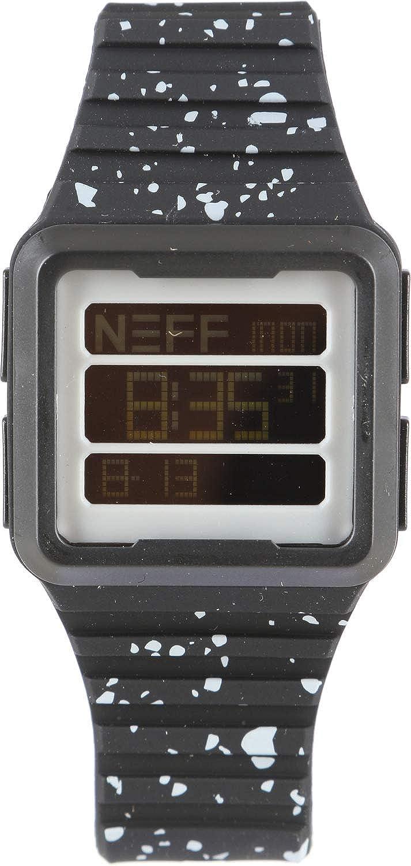 Neff - Odyssey Reloj para hombre negro/gris talla única: Amazon.es: Relojes