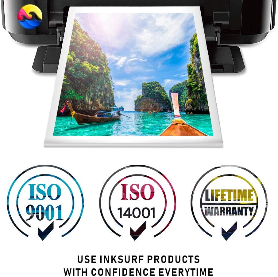 InkSurf Remanufactured Inkjet Replacement for Dell MK993 Color V305W A926 Series 9 Works with: V305 MW174