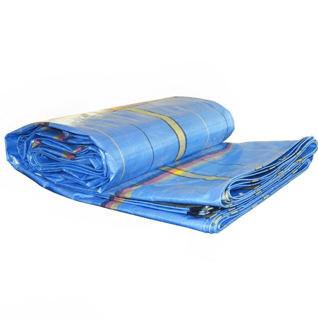 WSGZH Blaues Markisentuch Für Planenwagen Im Freien - 250 G / M2, 9 Größen Optional