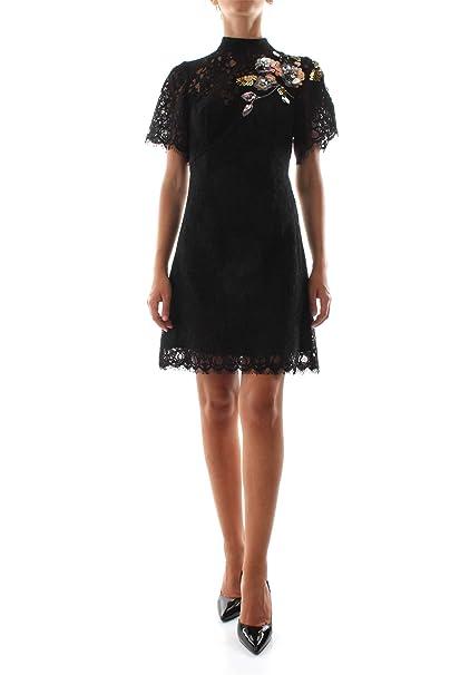 Marciano GUESS 84G757-6738Z Vestido Mujer Negro 42: Amazon ...