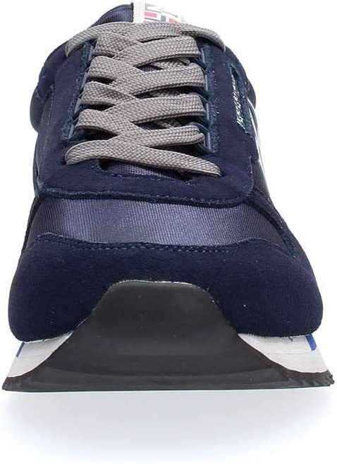 Napapijri schoenen mannen turnschoenen laag N0YJQN176 9SVIRTUS01 / MES BLU Marine donkerblauw
