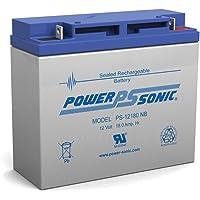 Power-Sonic PS-12180NB Batería SLA recargable 12 V 18 Ah genuina