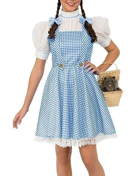 Amazon.com: Abninigee - Disfraz de Dorothy para mujer, L ...