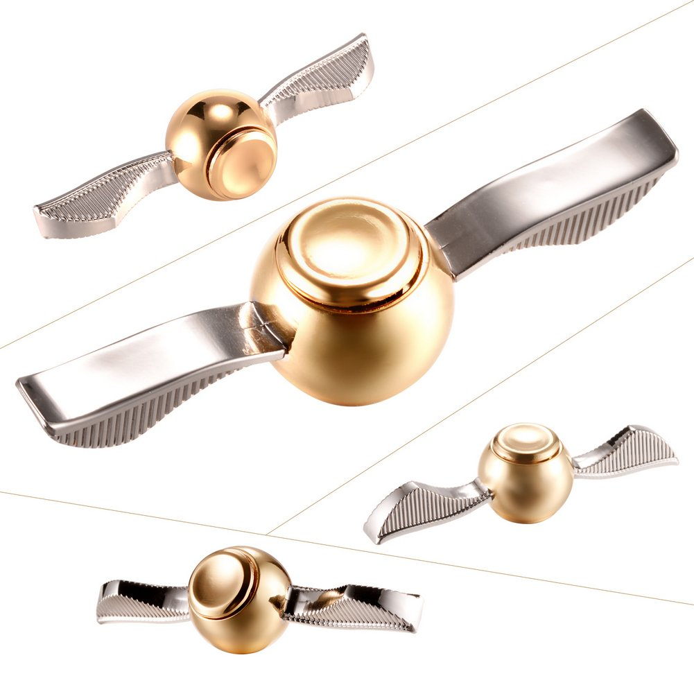 MAYBO SPORTS Wiitin Exclusive Harry Potter Fidget Hand Spinner Toy Made by Metal The Original Golden Snitch Used in Quidditch