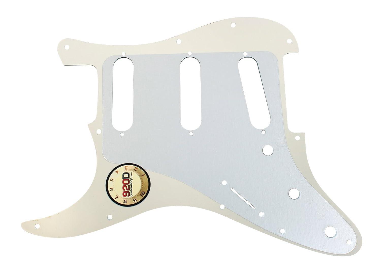 920D Custom Parchment 3 Ply Pickguard S Style CNC Presicion Cut