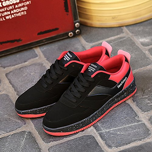 Zapatos deportivos para hombre,Zapatos de basquetbol Rojo