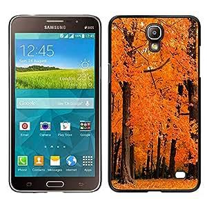 """For Samsung Galaxy Mega 2 , S-type Naturaleza Orange maderas"""" - Arte & diseño plástico duro Fundas Cover Cubre Hard Case Cover"""