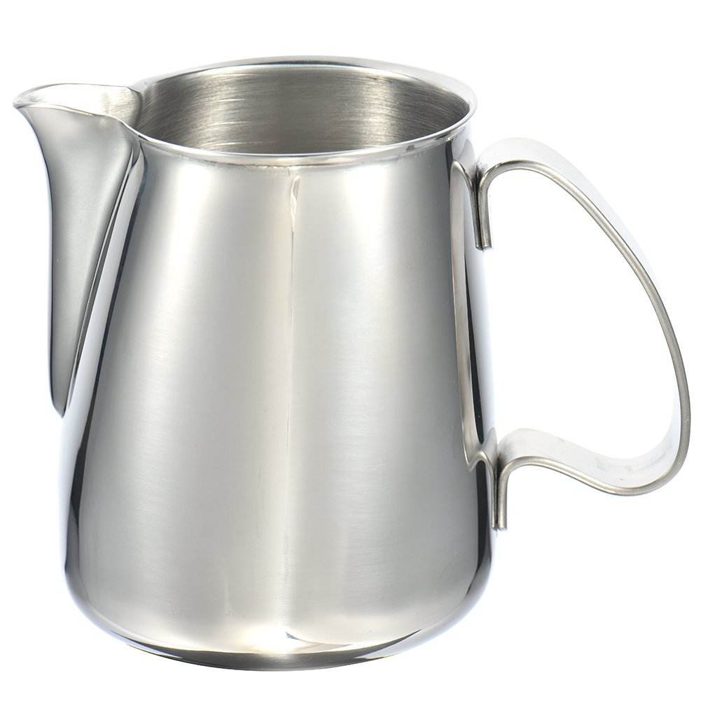 24oz/700ml Stainless Steel Milk Pitcher Suitable for Coffee, Latte, Frothing Milk by eronde