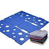 Amazon Price History for:BoxLegend Clothes/T Shirt Folder Blue Plastic 4mm Thickness Shirt Folding Board Easy and Fast Laundry Folder flipfold rack