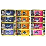 Blue Buffalo Wilderness Grain-Free Wet Cat Food Variety Pack - 3 Flavors