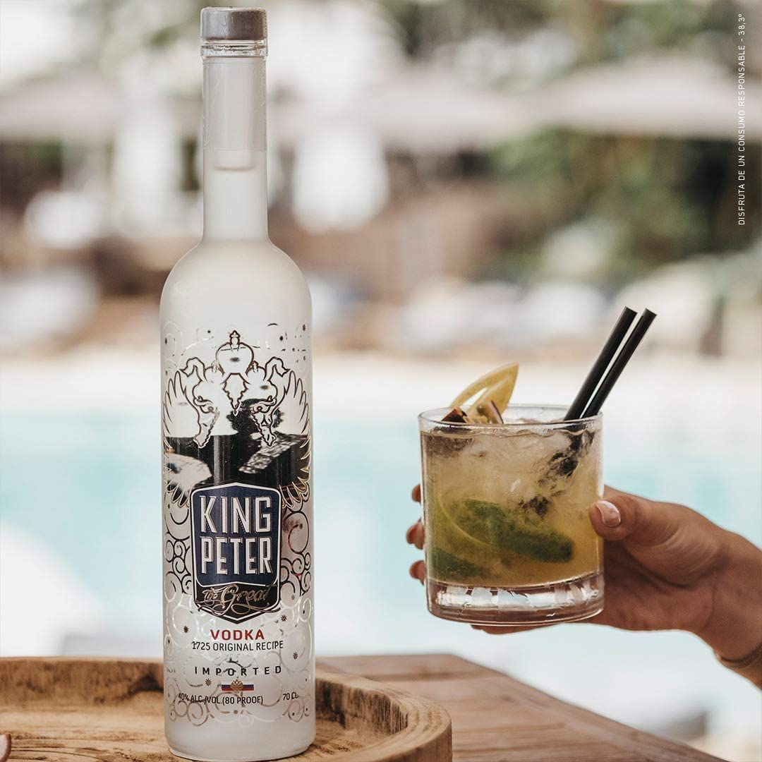 King Peter The Great, Vodka Mathusalem Premium - 6 litros ...