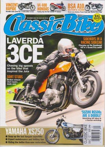 Classic Bike Magazine December 2012