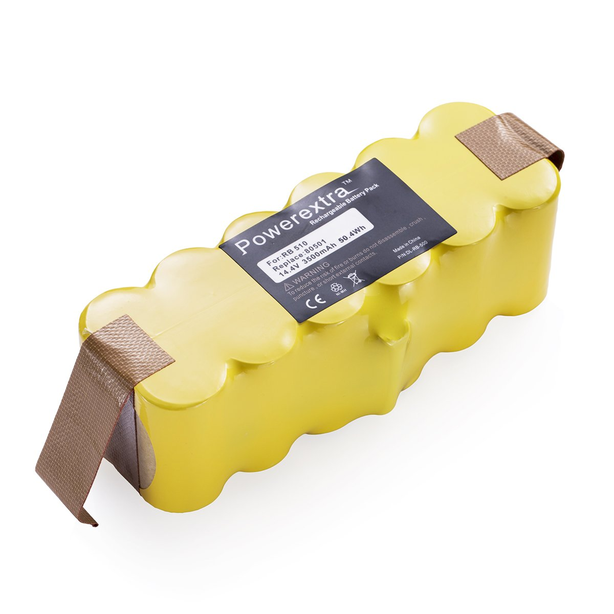 Powerextra 4500mAh Ni-MH Battery Compatible with iRobot R3 500, 600, 700 and 800 Series, 510 530 535 540 550 560 570 580 610 760 770 780 800 870 880 Robotic Vacuums
