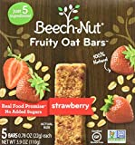 Beech-Nut Fruity Oat Bars Strawberry Toddler Snack, 0.78 Ounce (Pack of 6)