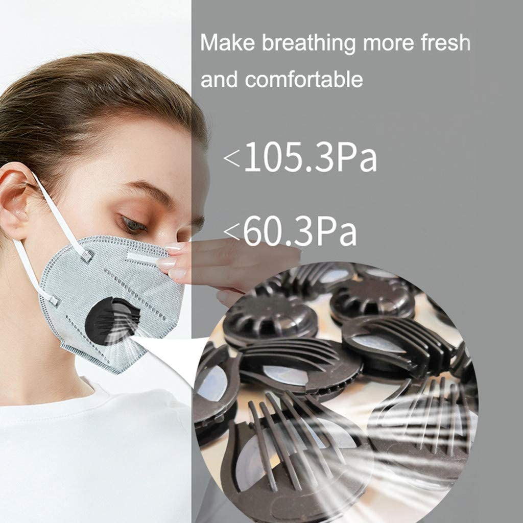 10//20//50PC Outdoor Air Breathing Valves Face Mouth Filter Accessories Replacements Breathing Valves Cover Filter