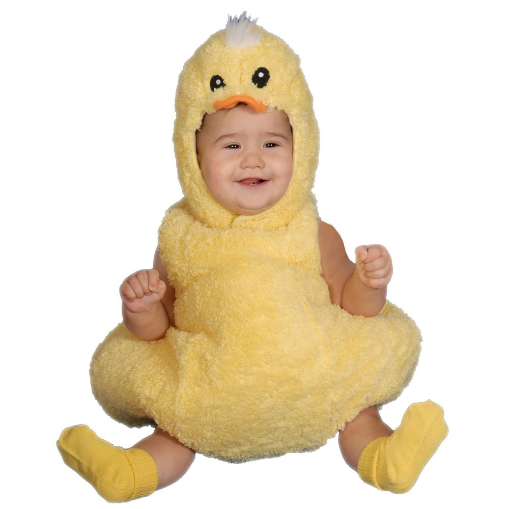 Dress Up America Cute Little Baby Duck, Yellow, 12-24 Months by Dress Up America