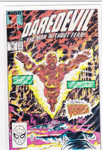 Daredevil #261 The Man Without Fear (Meltdown, Volume 1)