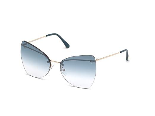 Amazon.com: Tom Ford FT0716 - Gafas de sol con lentes ...