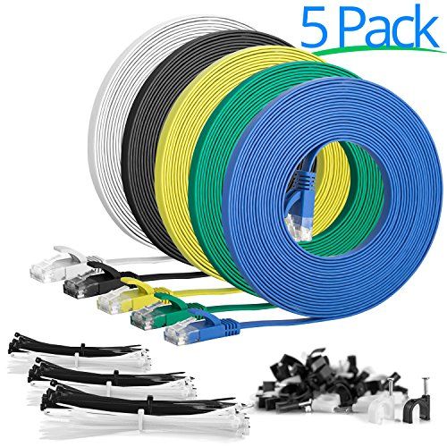 100ft Cat5 Orange Patch Cord - 7