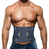 BERTER Lower Back Brace, Lumbar Support Belt Men Women Back Brace with Adjustable Waist Straps for Back Pain Relief Herniated