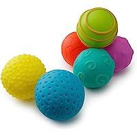 Playkidz- Super Durable Paquete de 6 Bolas sensoriales