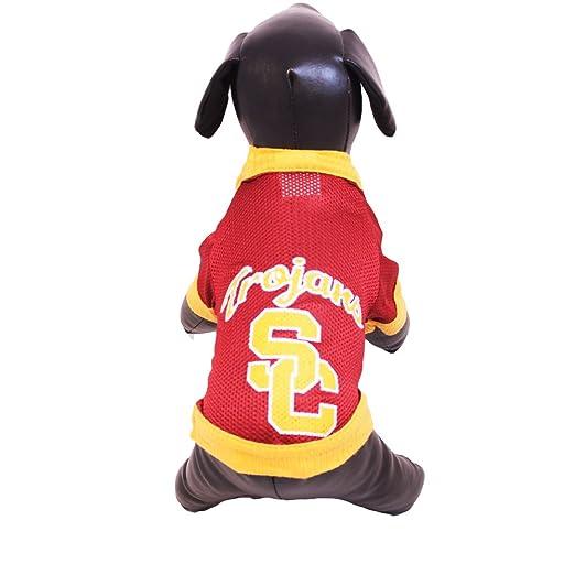 a0f949b7f6a Amazon.com : NCAA USC Trojans Athletic Mesh Dog Jersey : Pet Shirts : Sports  & Outdoors