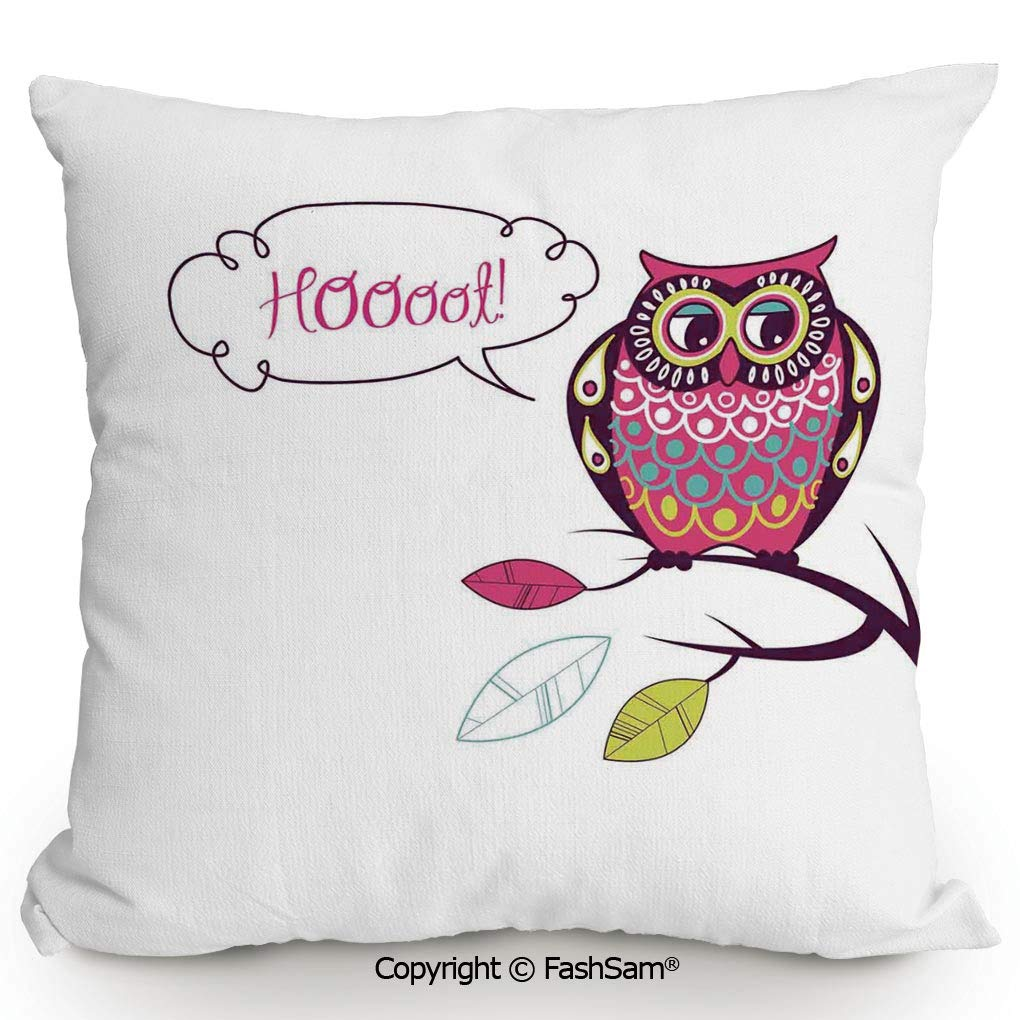 Amazon.com: Polyester Throw Pillow Cushion Ornate Background ...