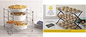 Betty Crocker 3-tier Oven Rack & Wilton 3-Tier Collapsible Cooling Rack