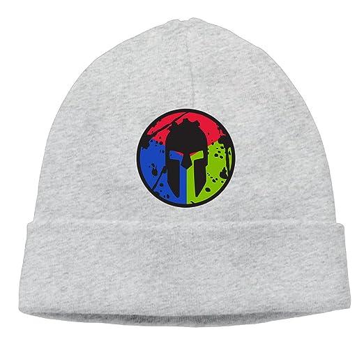 985d605cb52 BWMEN Spartan TRIFECTA Beanie Cap Hat Ash at Amazon Men s Clothing store